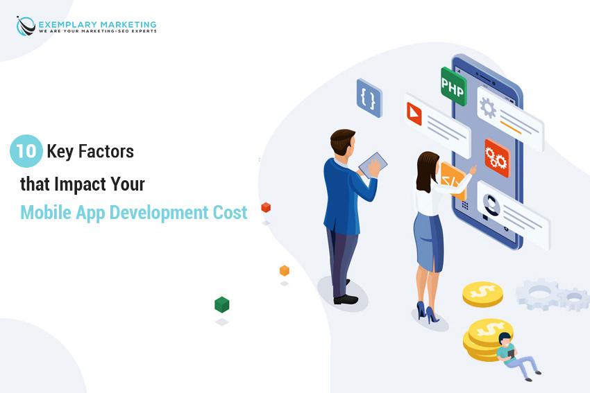 key factors that impact your mobile app development cost